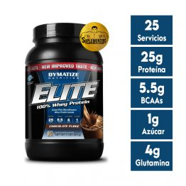 Proteína Elite Whey Protein Isolate 2 Lbs Chocolate