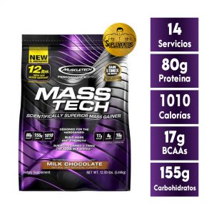 Mass Tech Masa Muscular 12 Lbs Chocolate