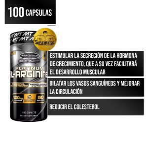 Essential Series Platinum 100% L-Arginine