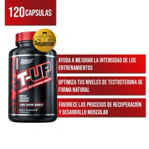 T-UP® Testosterone Booster Nutrex