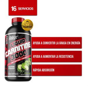 LIPO 6 LIQUID CARNITINE 3000MG NUTREX