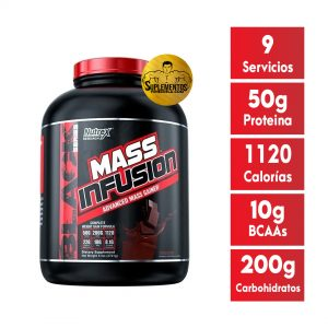 MASS INFUSION NUTREX 6 LBS CHOCOLATE