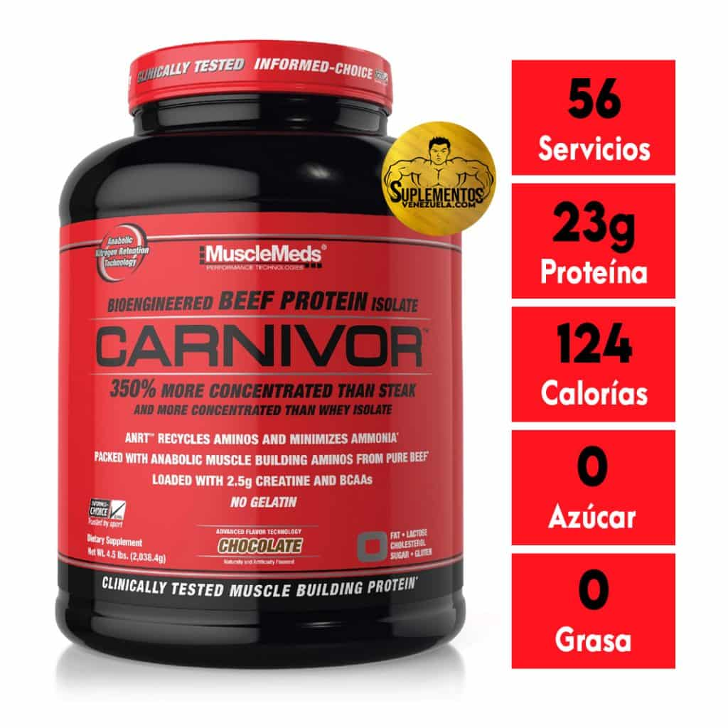 CARNIVOR BEEF PROTEIN 8 LB CHOCOLATE