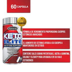 Keto Elite 60 Ct Muscletech
