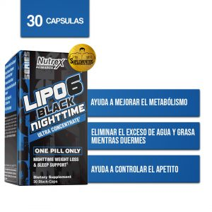 LIPO 6 BLACK NIGTH TIME NUTREX