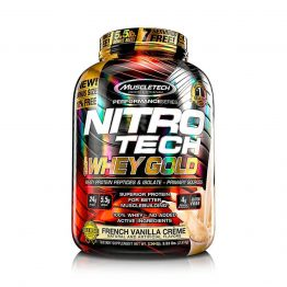 Nitro Tech 100% Whey Gold 5,5 Lb Vainilla