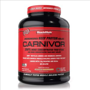 CARNIVOR BEEF PROTEIN 4 L chocolate PEANUT BUTTER