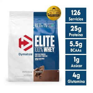 PROTEÍNA ELITE WHEY PROTEIN ISOLATE 10 LBS CHOCOLATE