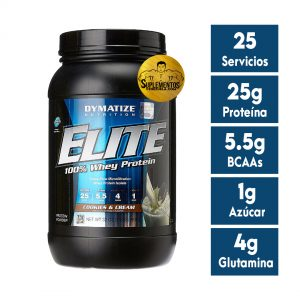 PROTEÍNA ELITE WHEY PROTEIN ISOLATE 2 LBS COOKIES