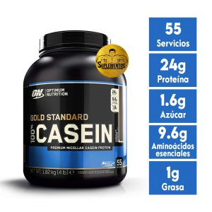 PROTEÍNA OPTIMUM NUTRITION GOLD STANDARD 100% CASEIN