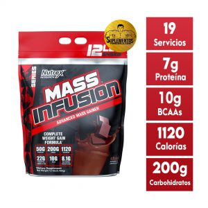 Mass Infusion Nutrex 12 Lbs Chocolate