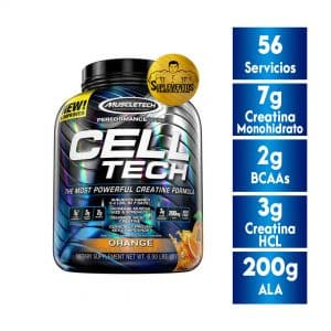 CELL TECH - PERFORMANCE SERIES 6 LBS NARANJA