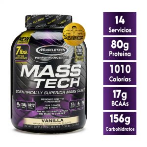 Mass Tech Masa Muscular 7 Lbs Vainilla